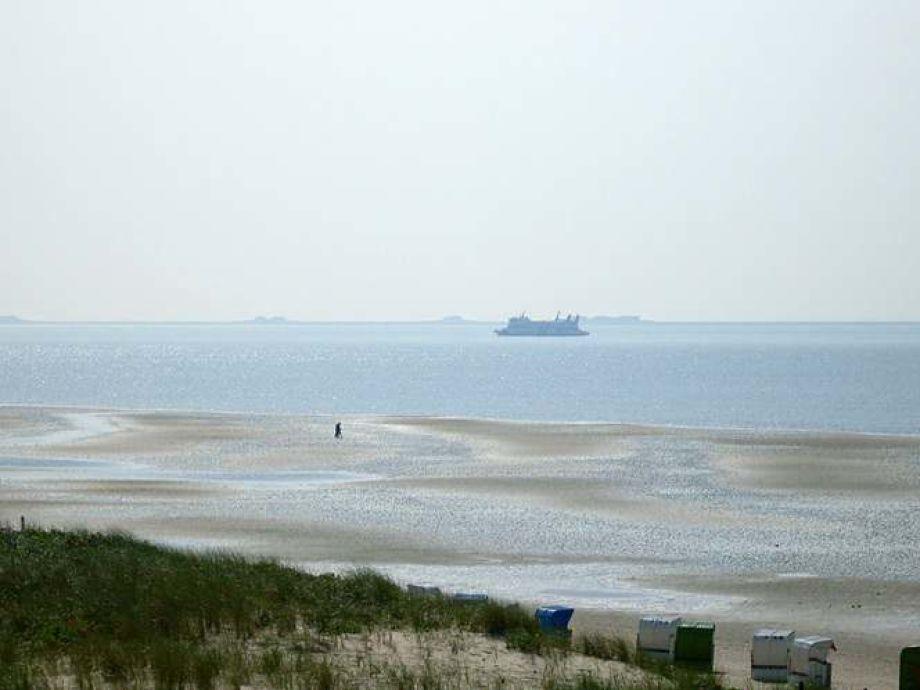 Dies ist Ihr Blick auf die Nordsee ....