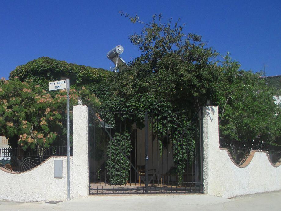 Eingang Ferienhaus Menfi 3