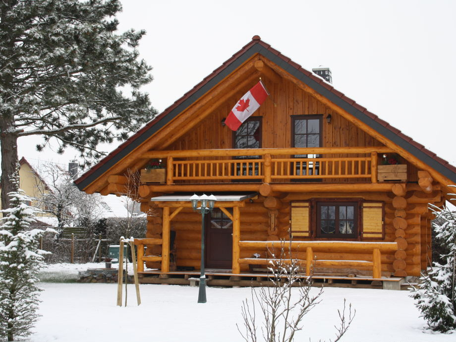 Canadian Island im Winter