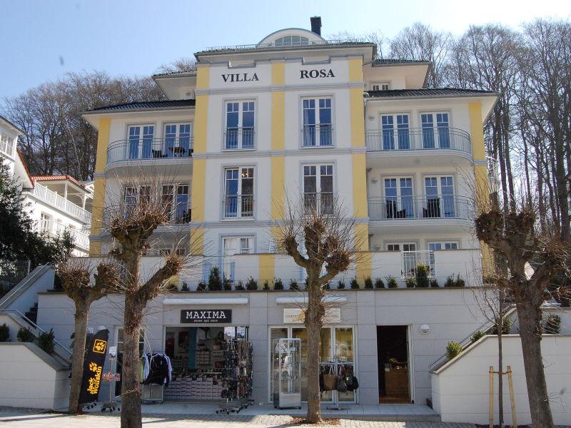 """Apartment """"Strandkorb"""" in der Villa Rosa"""
