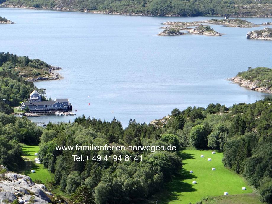 Außenaufnahme Stella direkt am Fjord