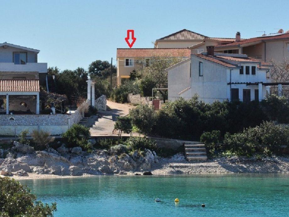 Außenaufnahme in Villa Karlo