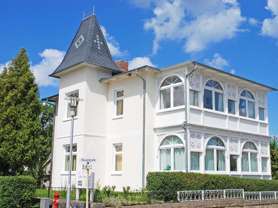 Die Villa Sanssouci im Ostseebad Sellin