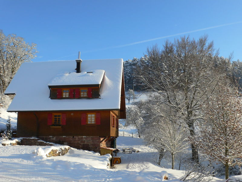 Holiday apartment On the upper floor of the Lavendelhaus on Hof Reichenbachtal.