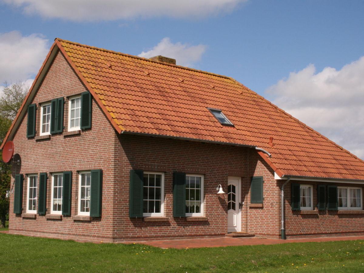 Ferienhaus Landhaus Am Osterdeich Neßmersiel Frau Birgit Langenberg
