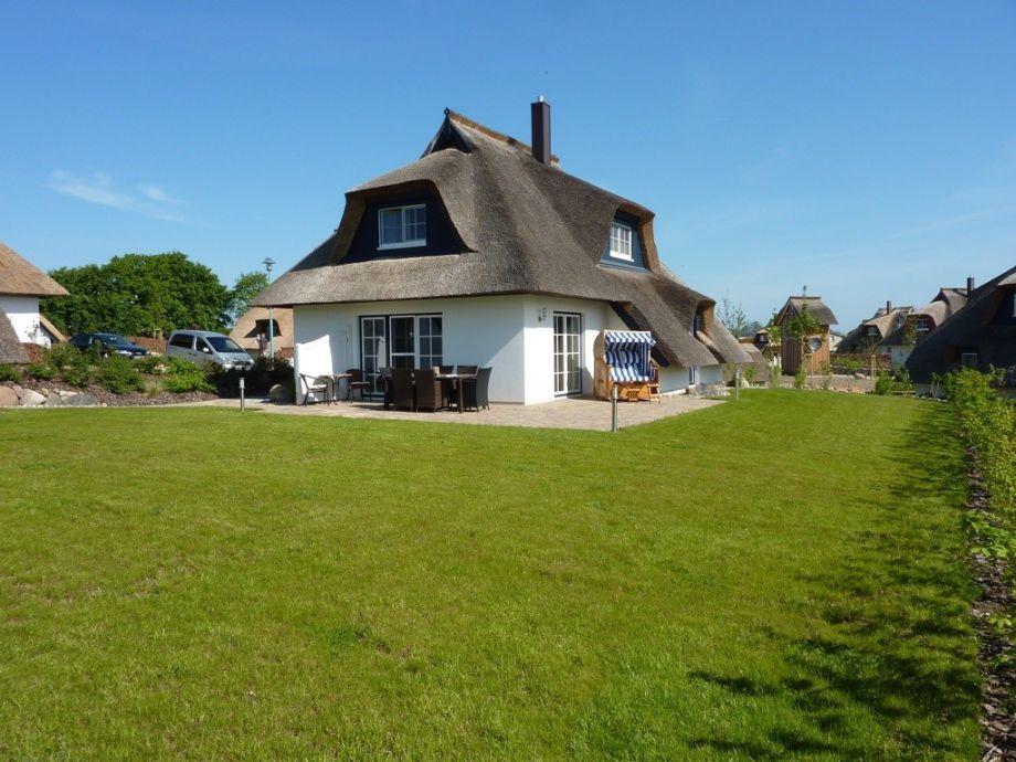 Das Ferienhaus mit großer Liegewiese