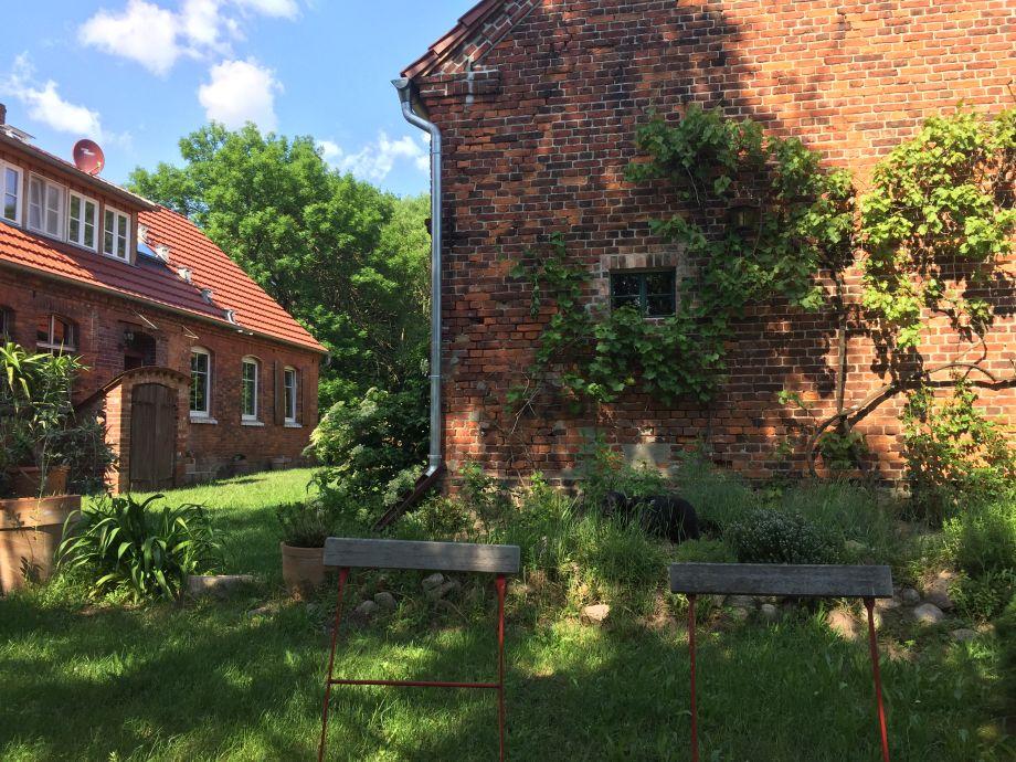 Ferienhaus landhaus goldene gans brandenburg prignitz for Haus und garten