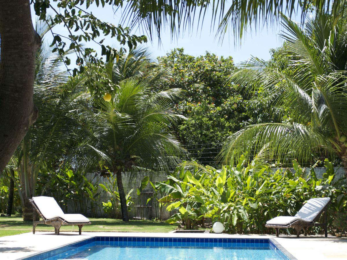 Ferienhaus casa verde n he fortaleza sch ne villa pool for Garten pool tiefe