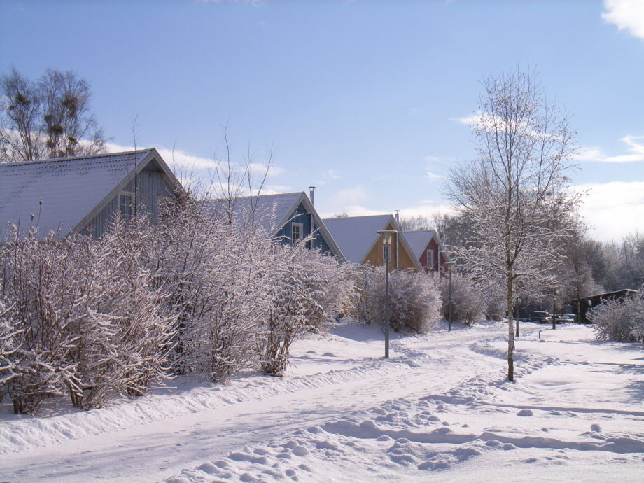 """Winter im Feriendorf """"Müritzufer"""""""