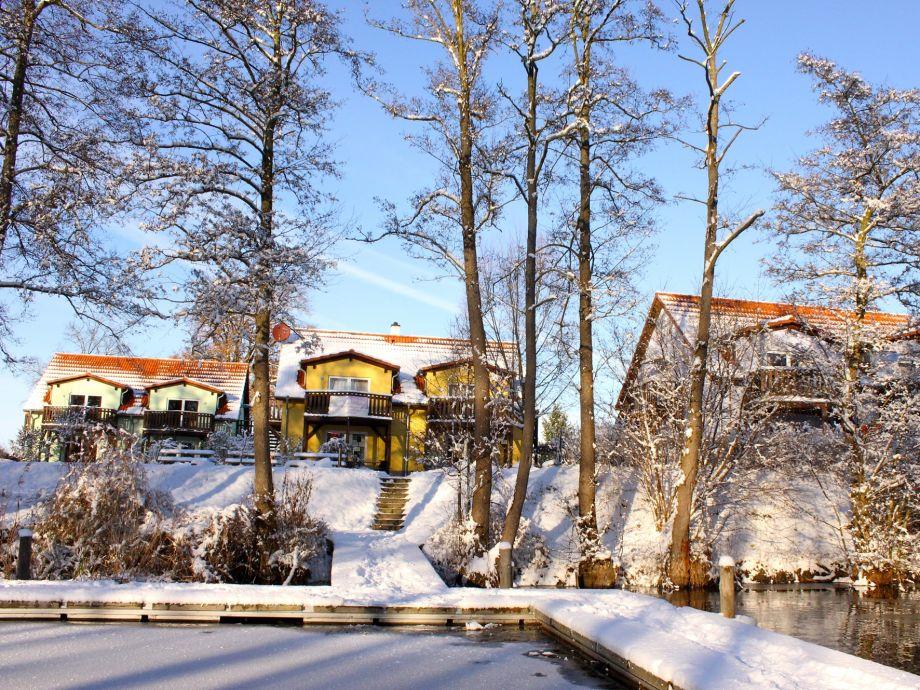 Winter im Feriendorf Alte Fahrt