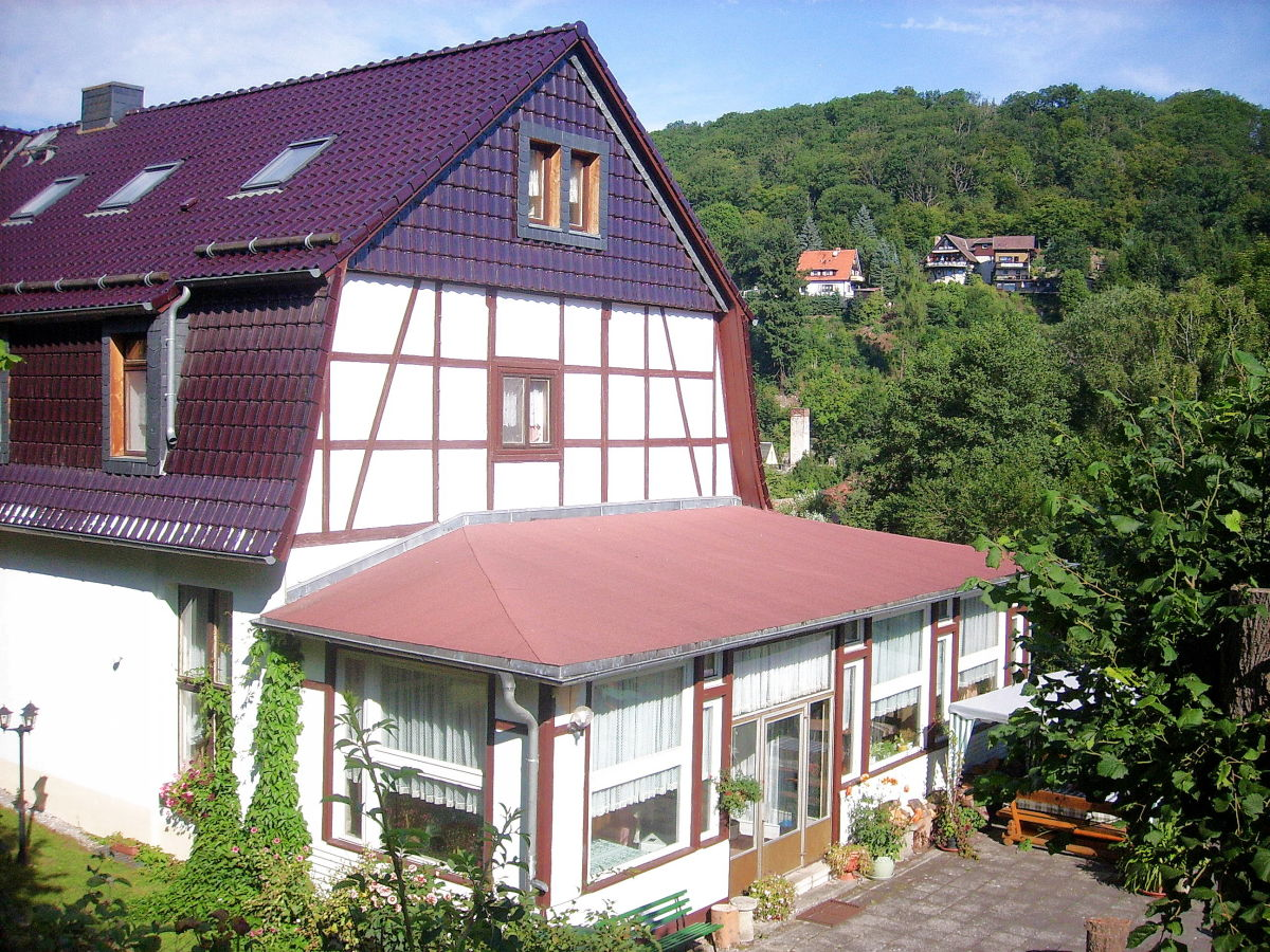 Pension haus wilde harz bodetal thale ot altenbrak mr for Housse barbecue