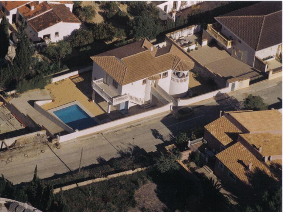 Luftaufnahme des Hauses