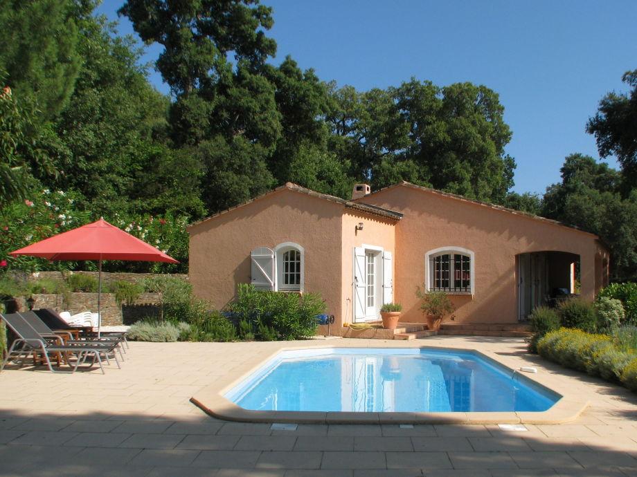 Die Villa mit einem tollen Pool