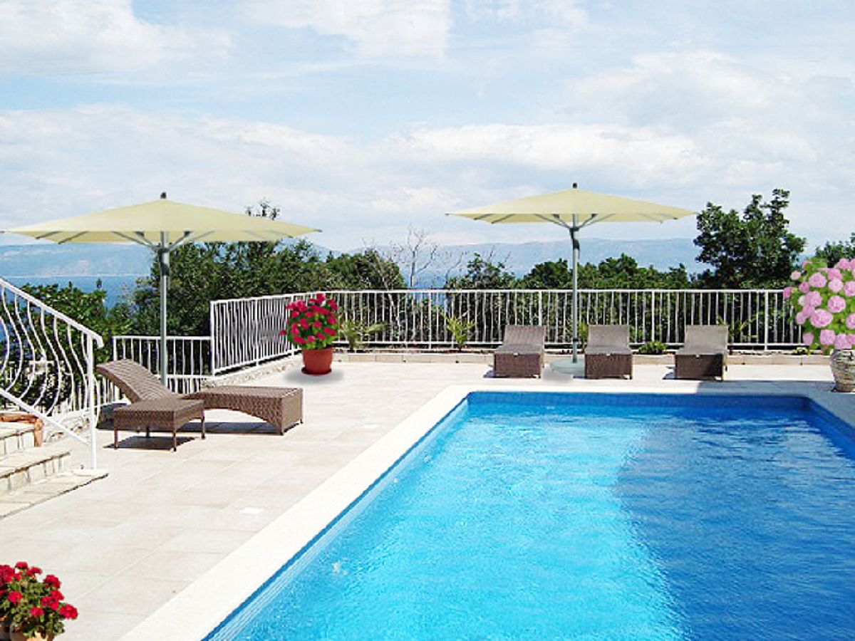 ferienwohnung villa bella vista apartment paradiso kroatien istrien ravni frau sonja postel. Black Bedroom Furniture Sets. Home Design Ideas