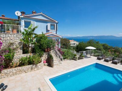 Ferienwohnung in der Villa Bella Vista Giardino 2 mit Garten & Pool ...