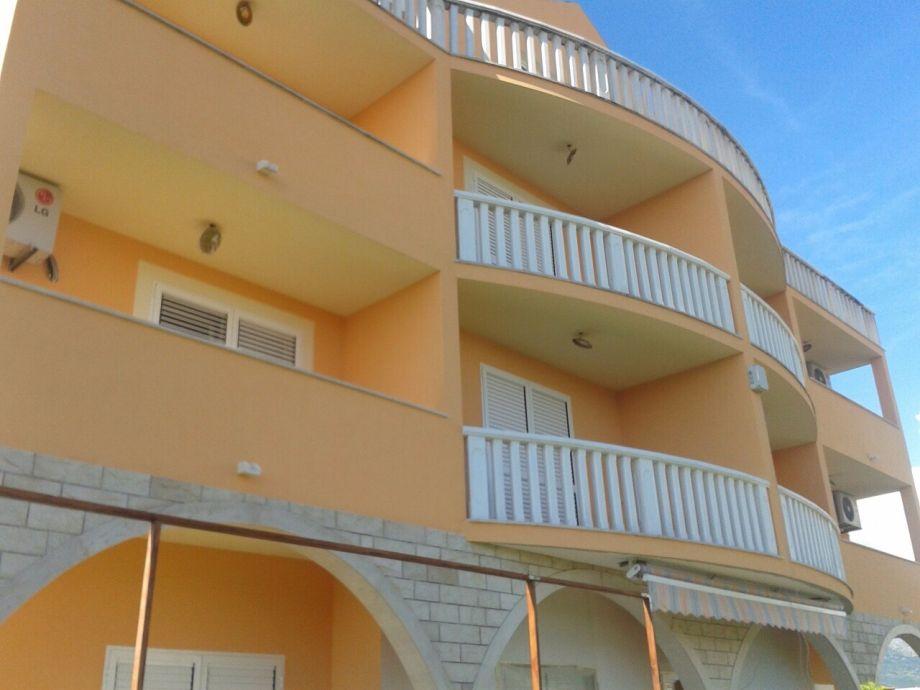 Jedes Apartament hat eigenes Balkon