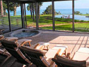 Ferienwohnung 08 OG2 Villa Nause mit Seeblick & Wellness