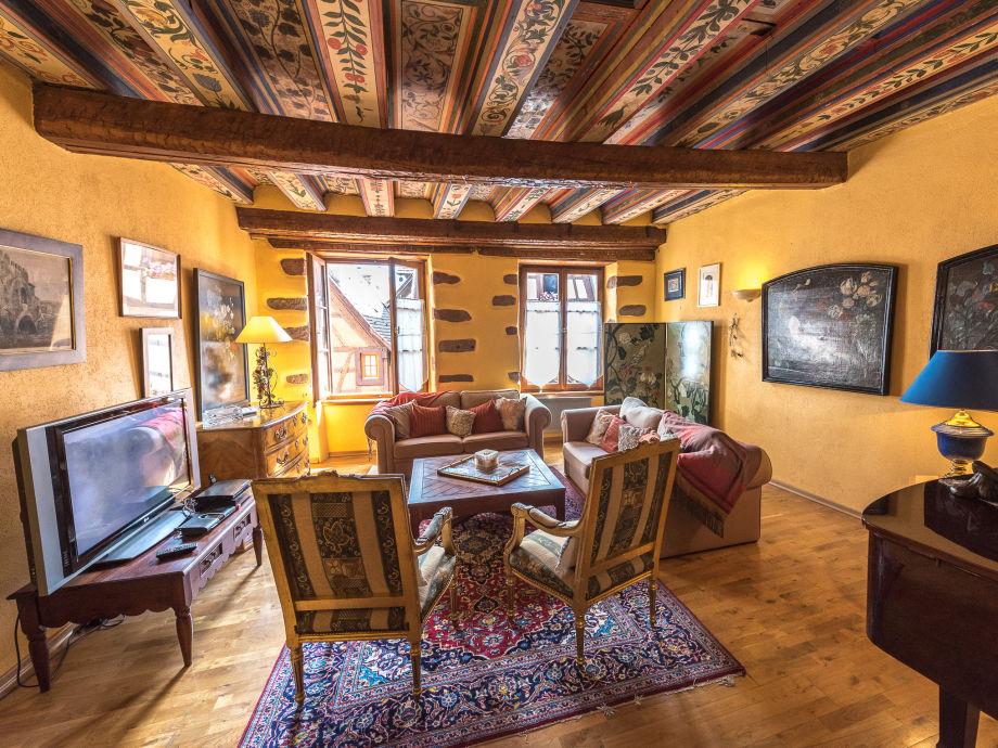 Das wunderschöne Wohnzimmer