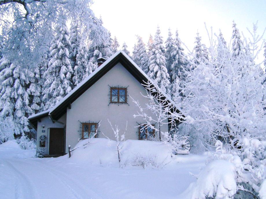 Winter im Ferienhaus Rosi!