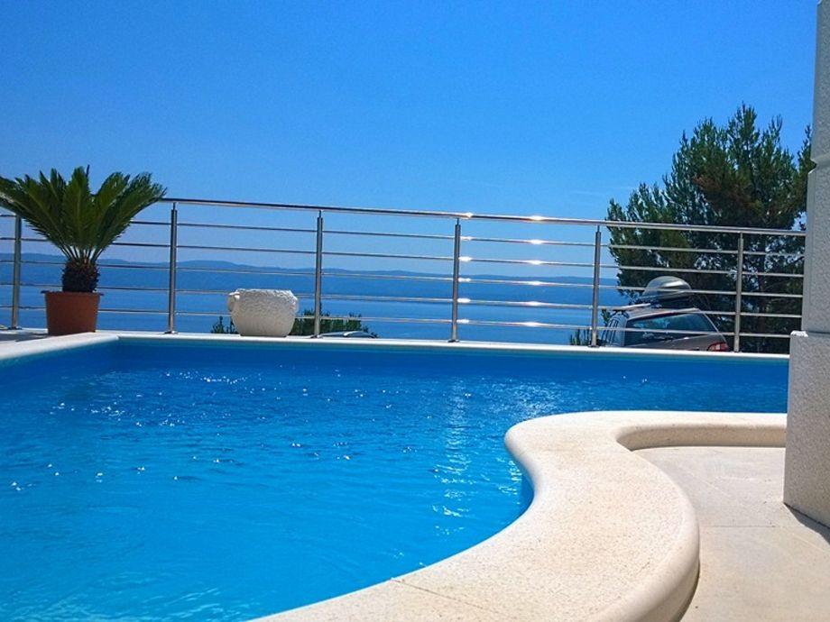 Villa Divina Pool - Meerblick