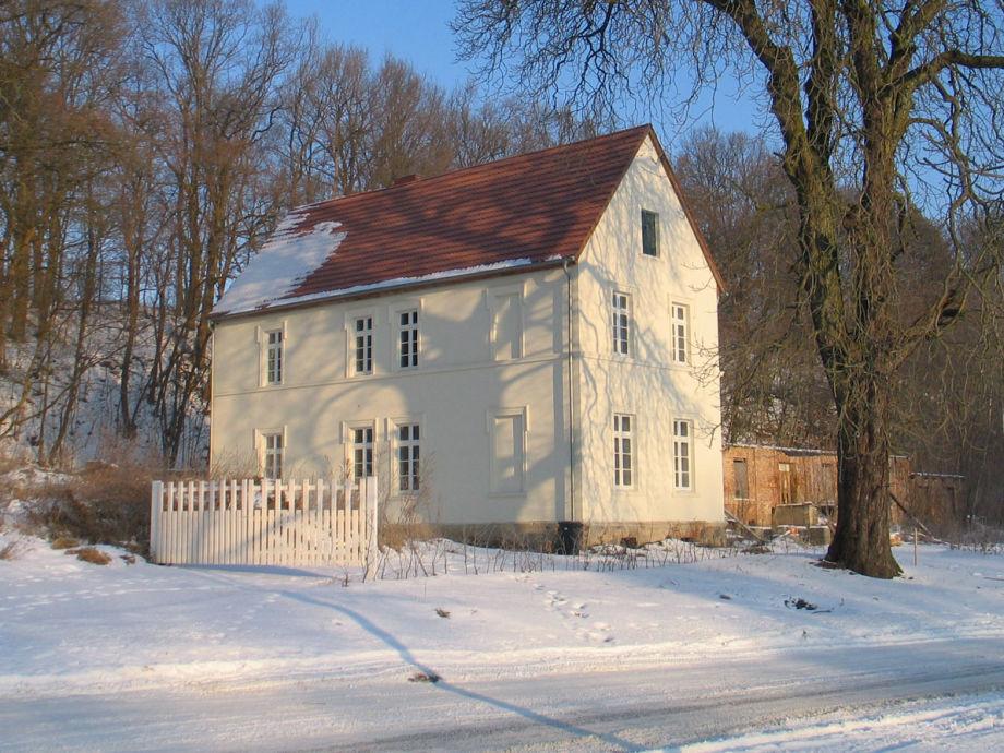 Gutshaus Granzow im Winter