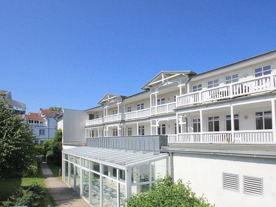 Außenaufnahme im Haus Strandeck (WE14, Typ A deluxe)