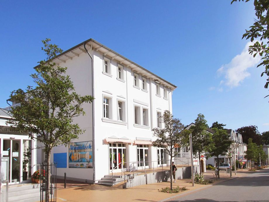 Aussenansicht Residenz Strandeck