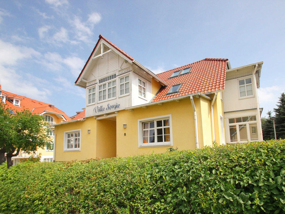 Außenaufnahme in der Villa Sonja (WE804, Typ A)