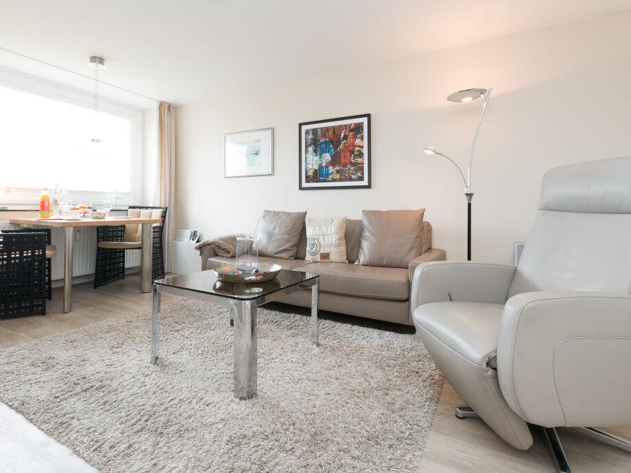 Ausstattung Sylter Residenz Appartement 36 im 5 OG Meerblick