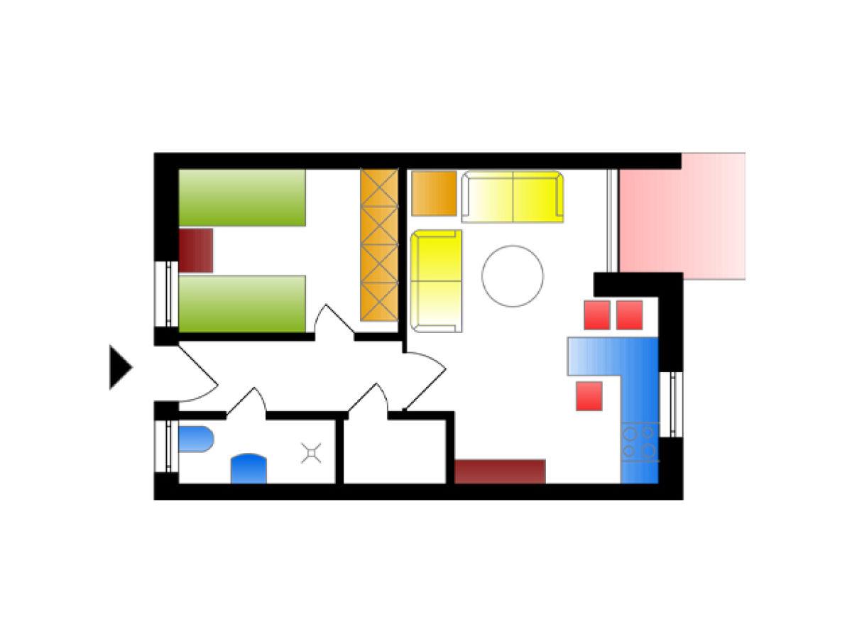 ferienwohnung im haus roland usedom ostseebad zinnowitz. Black Bedroom Furniture Sets. Home Design Ideas