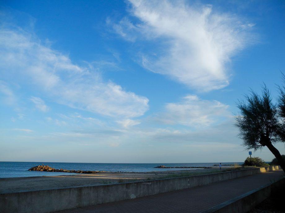 Strand nach Westen