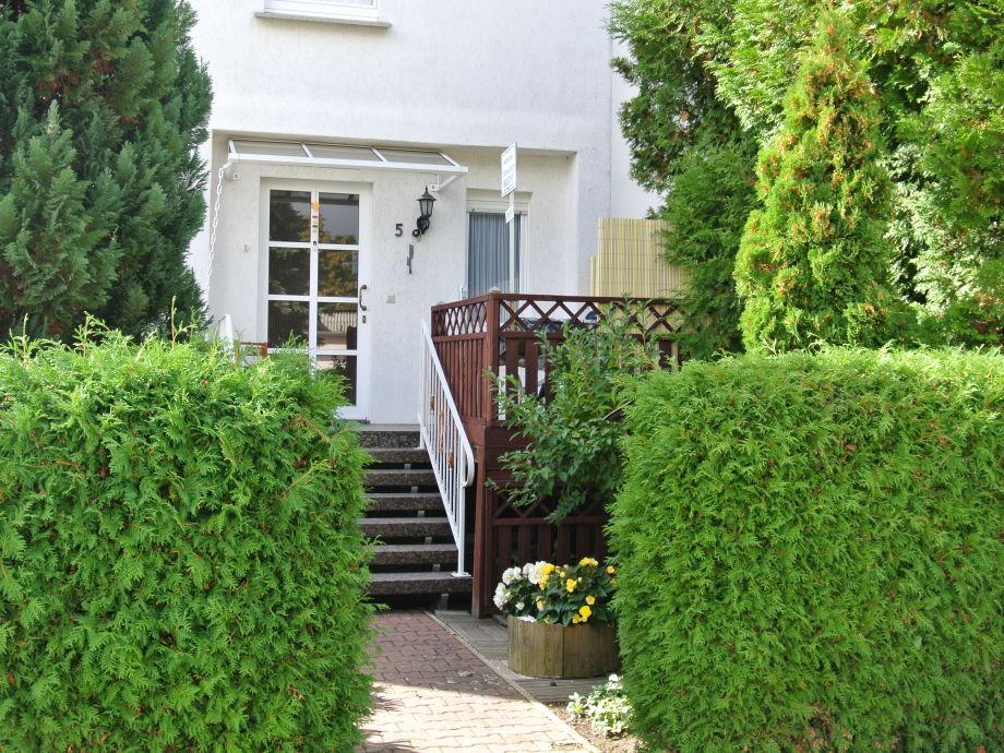 Haus Budich - Eingang