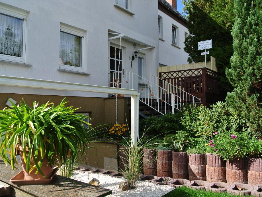 Haus Budich - von der Seite