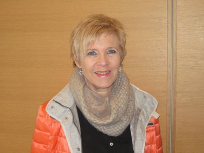 Your host Dorothe Kiefer