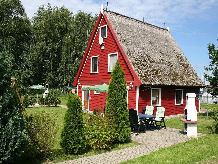 Ferienhaus, Ferienwohnung Bootssteg mit Garten