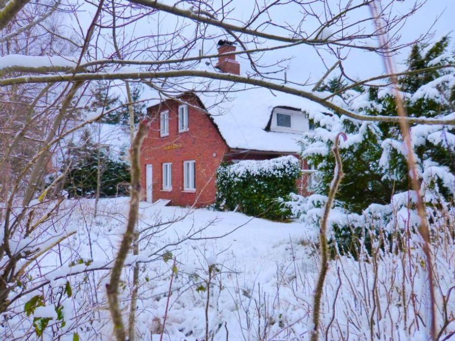 Außenaufnahme Haus in der Heide