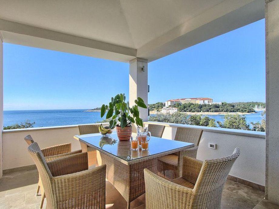 Villa Del Mar - Essbereich mit traumhaftem Meerblick