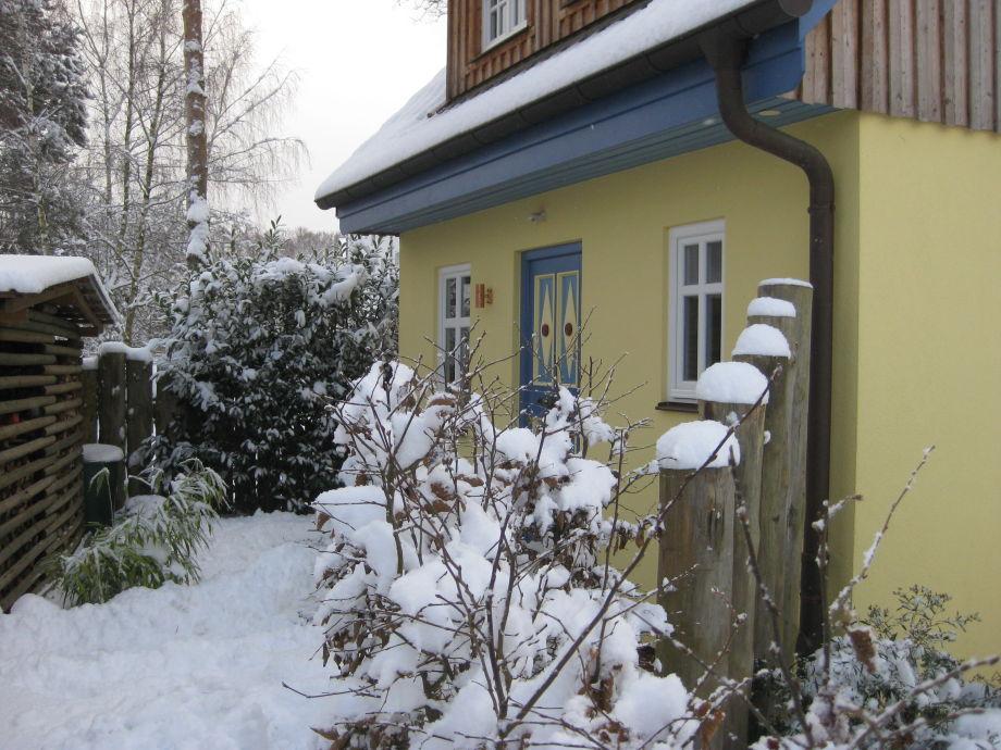 Villa-Sternchen im Winter