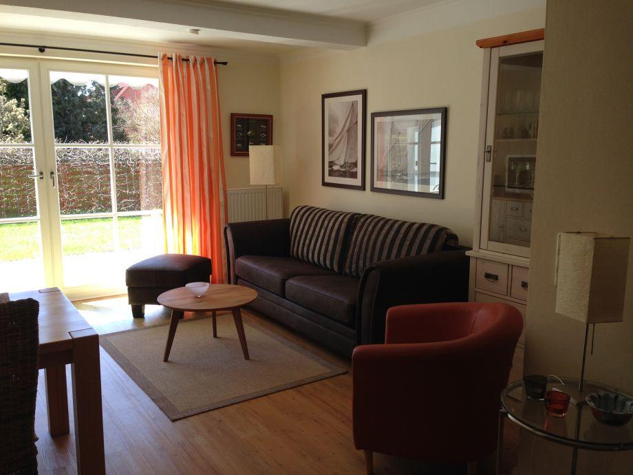 Sitzecke im Wohnzimmer zum Entspannen