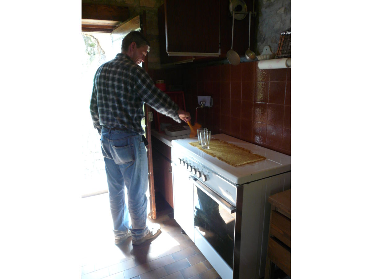 Küchenzeile Ch ~ cottage'rustico piccolo mondo', albogasio valsolda (i) naehe lugano tessin(ch) frau