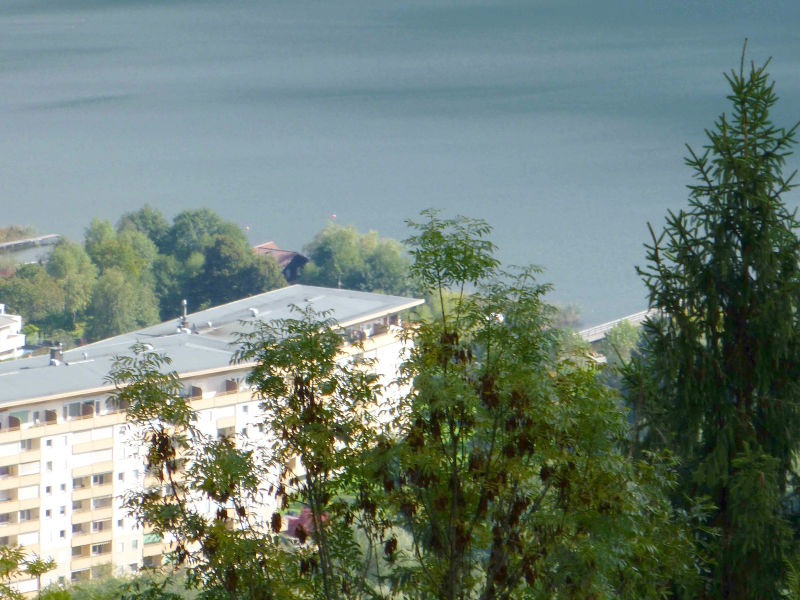 Ferienwohnung mit Seeblick, Hallenbad und Badestrand