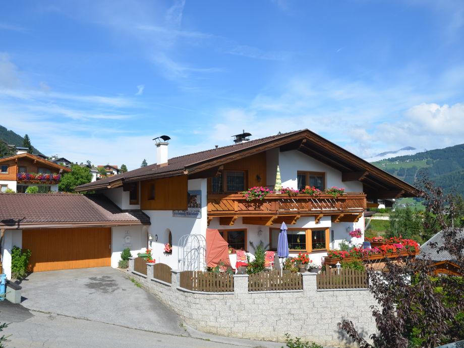 Haus Möderndorfer im Sommer