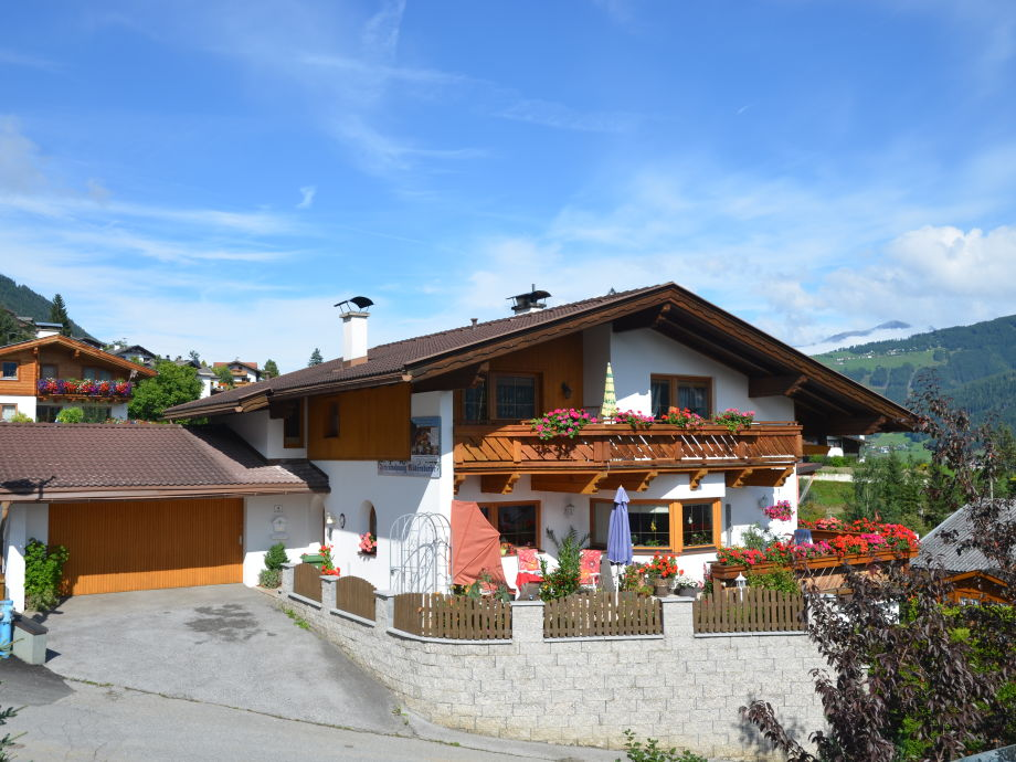 House Möderndorfer in the summer