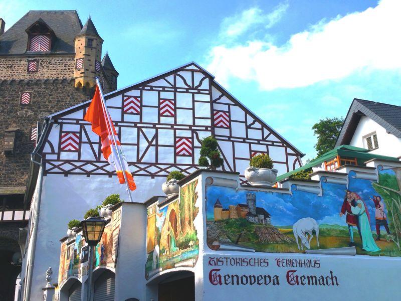 Historisches Ferienhaus Genoveva-Gemach