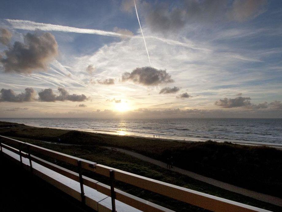 Ferienwohnung Sonnenterrasse mit Meerblick.