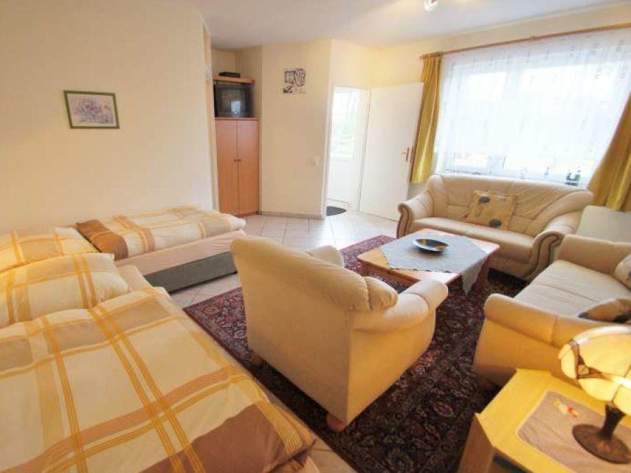 Wohnbereich mit 2 Einzelbetten