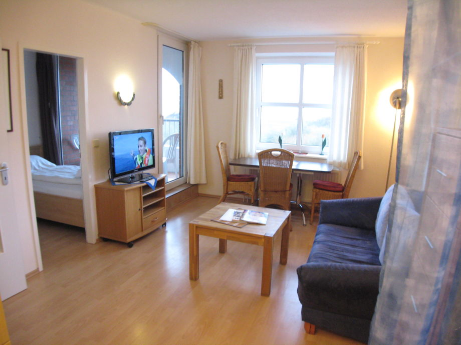 Wohnraum Residenz Deichgraf
