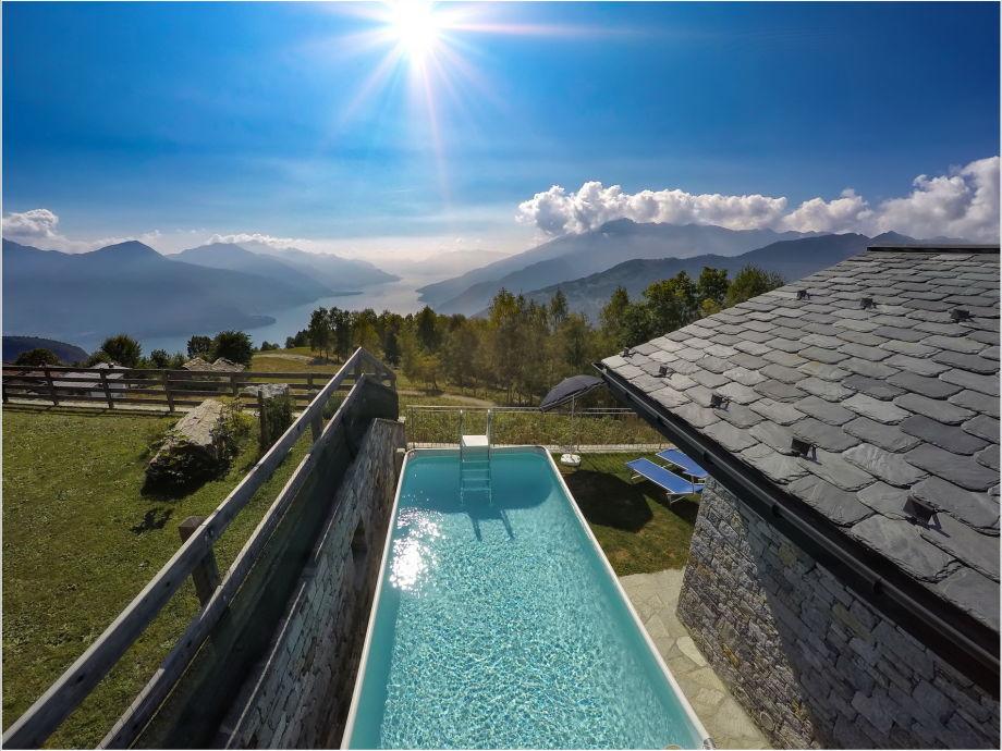 Chalet Bellavista mit Pool