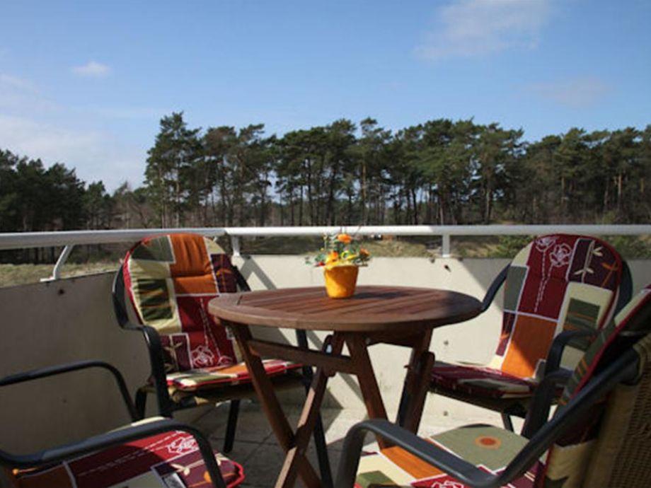 Traumhafter Balkon der Ferienwohnung