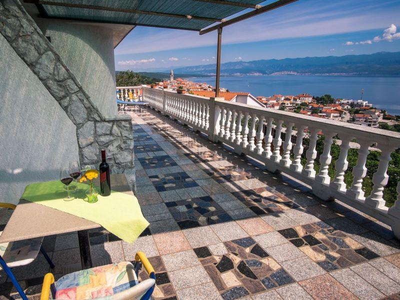 Ferienwohnung Visnja 3 mit traumhaften Meerblick
